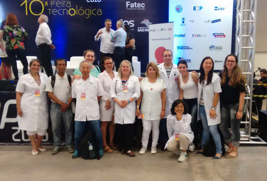 fetesp9 FTE EBRAMEC atua mais uma vez em evento do Centro Paula Souza desta vez na maior feira da instituição